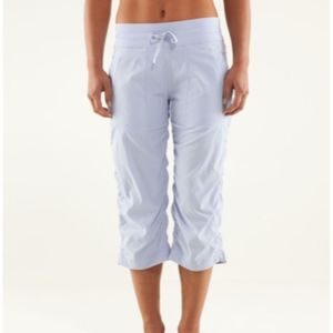 Lululemon Studio Crop No Liner Cool Breeze Pants